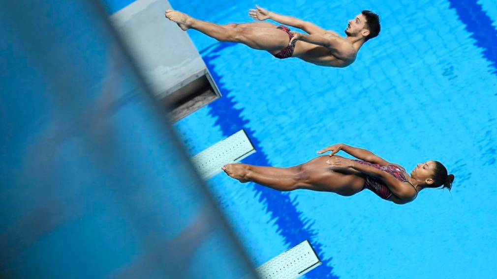 Two medals for Abel on the final day of the diving World Series in Montreal