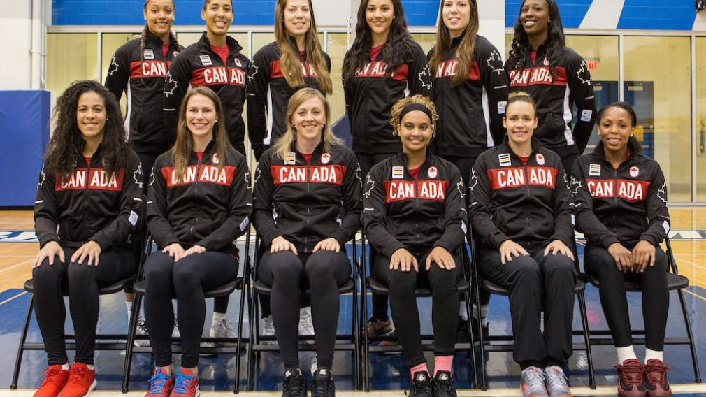 Canadian Women's basketball team nominated for Rio 2016