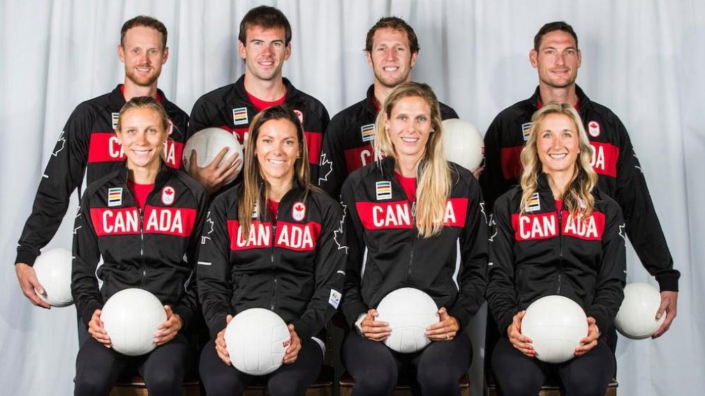 Canadian beach volleyball team nominated for Rio 2016