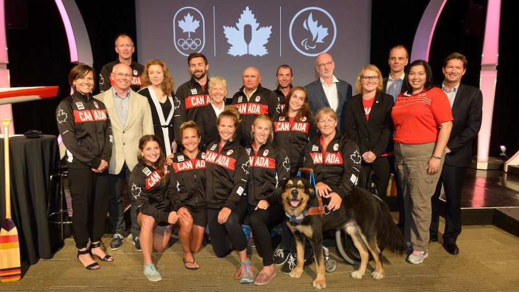 Canadian Canoe/Kayak team nominated for Rio 2016