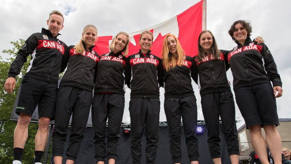 Canadian cycling team nominated for Rio 2016