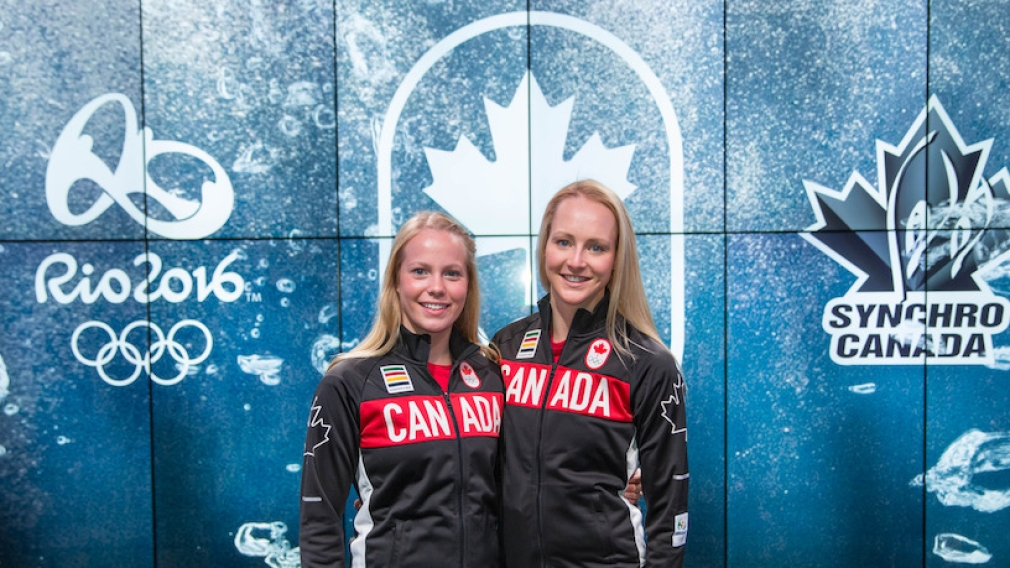 Canadian synchronized swimming duet nominated for Rio 2016
