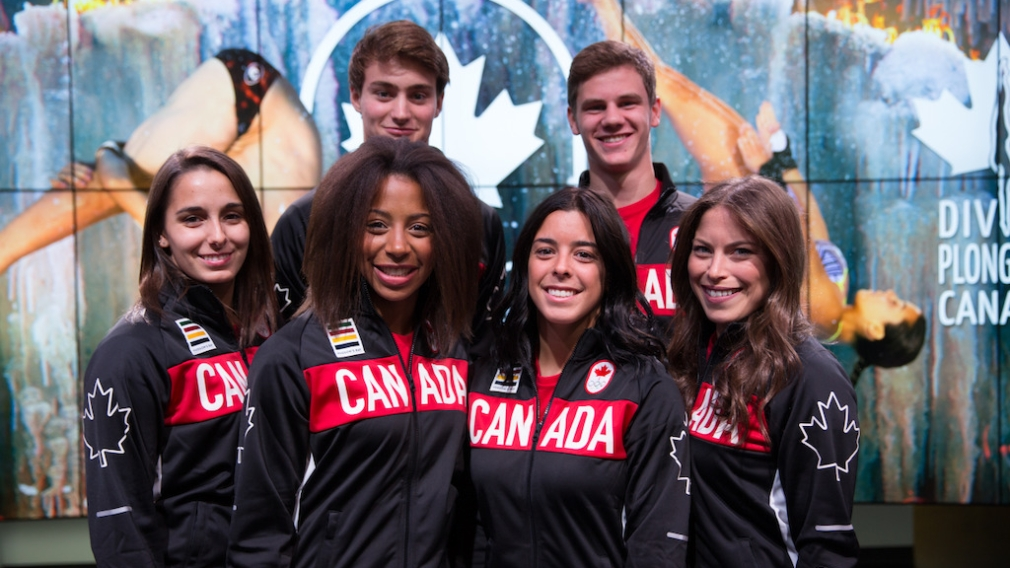 Canadian diving team nominated for Rio 2016