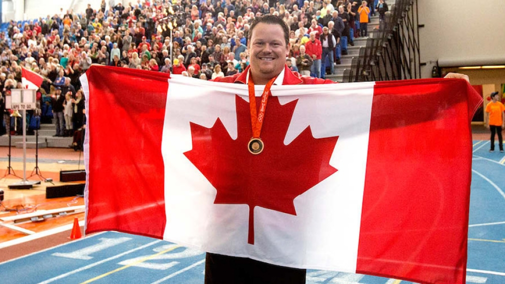 Dylan Armstrong Awarded Beijing 2008 Olympic Bronze Medal