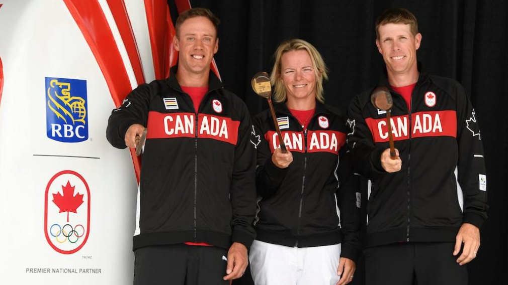 Canadian golf team nominated for Rio 2016