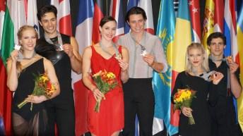 Ice dance medallists at 2017 Autumn Classic International