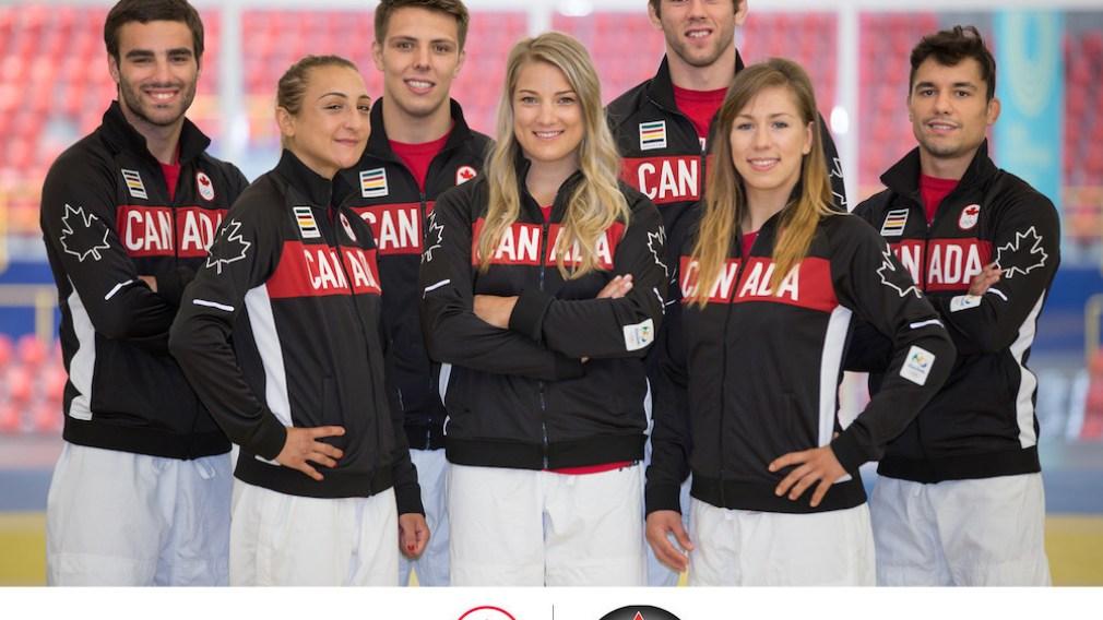 Canadian judo team nominated for Rio 2016