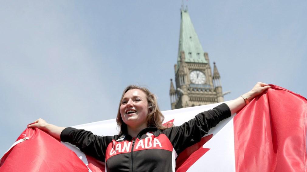 Rosie MacLennan named as Rio 2016 Team Canada Flag Bearer