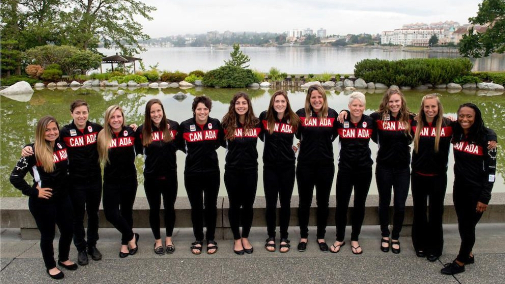 Canadian rugby sevens team nominated for Rio 2016