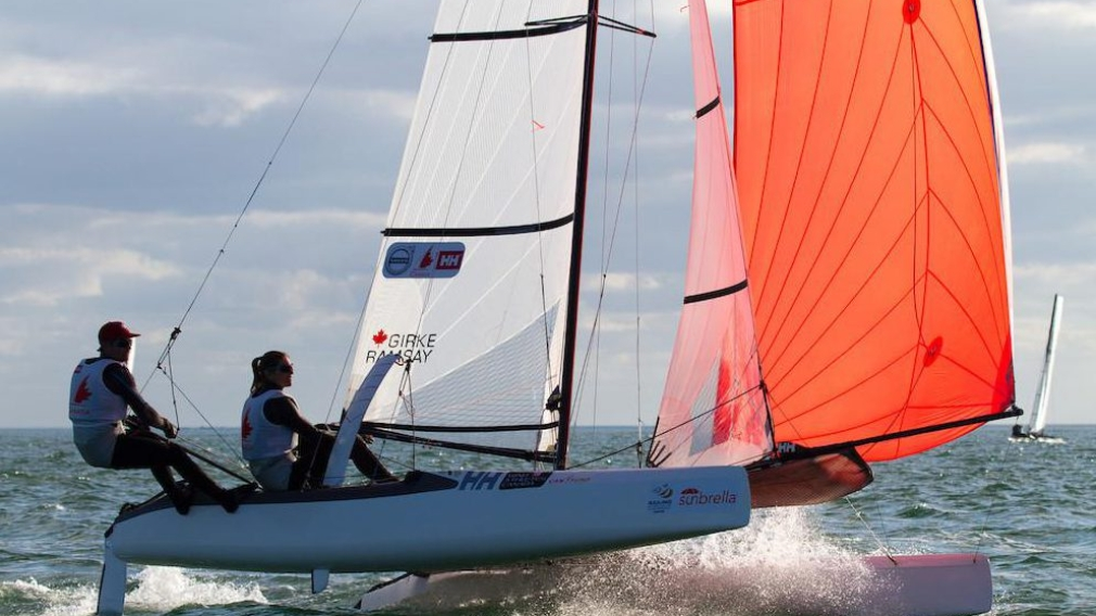 Canadian sailing team nominated for Rio 2016