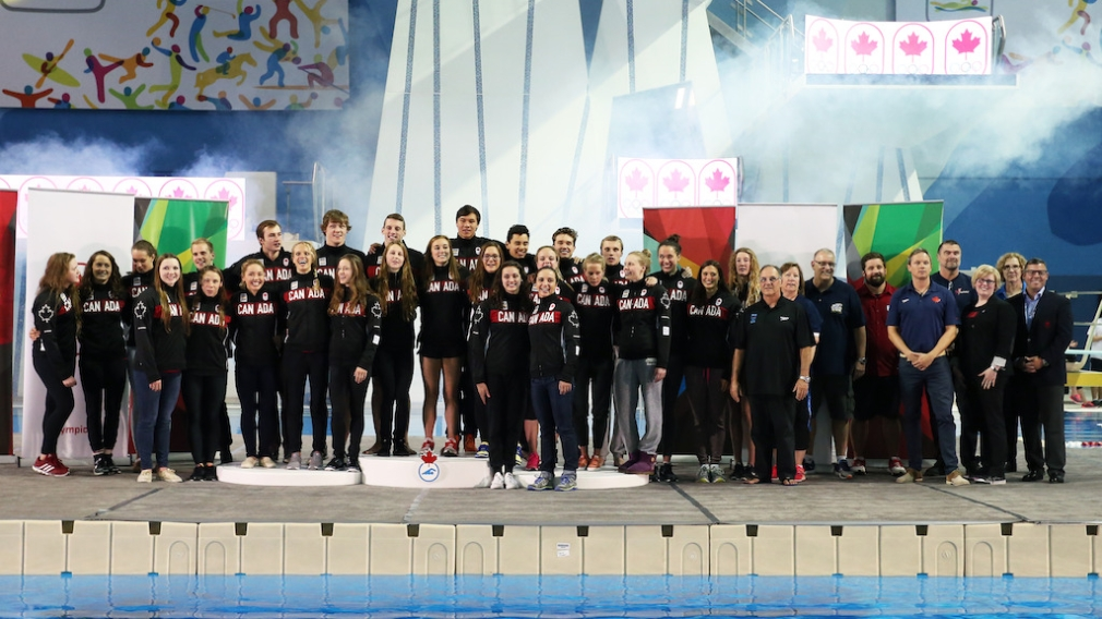 Canadian Swimming Team Nominated for Rio 2016