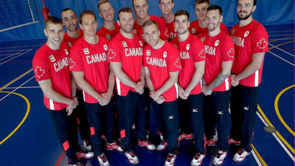 Canadian men's volleyball team nominated for Rio 2016