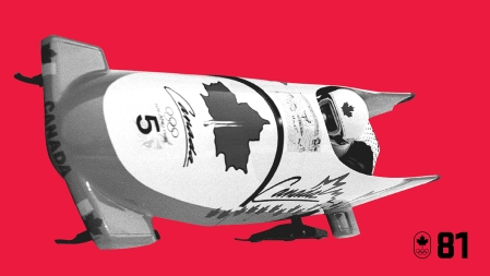 Pierre Lueders competed at five Olympic Games for Canada, but it was at Nagano 1998 where he made history with brakeman Dave MacEachern. Trailing an Italian sled by 0.03 heading into the final run, he made up that time but no more, resulting in the first ever tie for Olympic bobsleigh gold. BE EXCELLENT