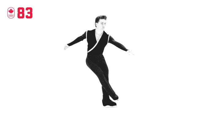 As reigning world champion, Elvis Stojko was a favourite for gold at Nagano 1998. But that was before he developed a groin injury for which he couldn't take painkillers. When something snapped on an early jumping pass, he adjusted his free skate on the fly and secured his second straight Olympic silver. BE RESILIENT