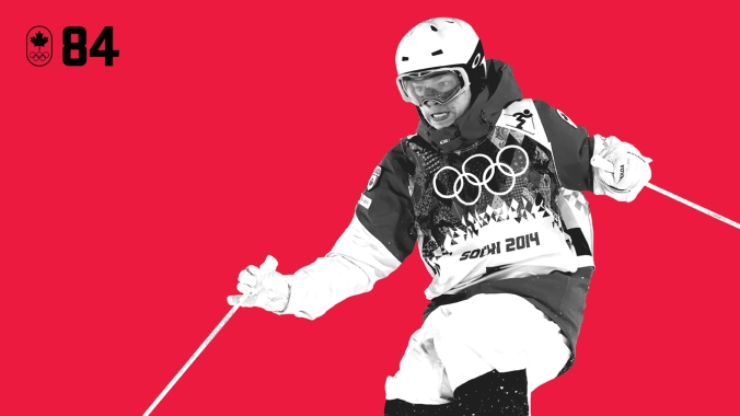 For three seasons, mogulist Mikaël Kingsbury rarely missed a podium while racking up win after win. But at Sochi 2014 he finished second to teammate Alex Bilodeau. Both gave credit where it was due: Bilodeau to Kingsbury for pushing him to be better and Kingsbury to Bilodeau for his incredible run. BE RESPECTFUL