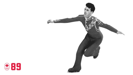 "At Calgary 1988, the ""Battle of the Brians"" pitted Canada's reigning world champion Orser against the American Boitano. In an extremely close 5-4 judges split, Orser took home his second straight silver, becoming Canada's first double Olympic medallist in figure skating. BE STRONG"