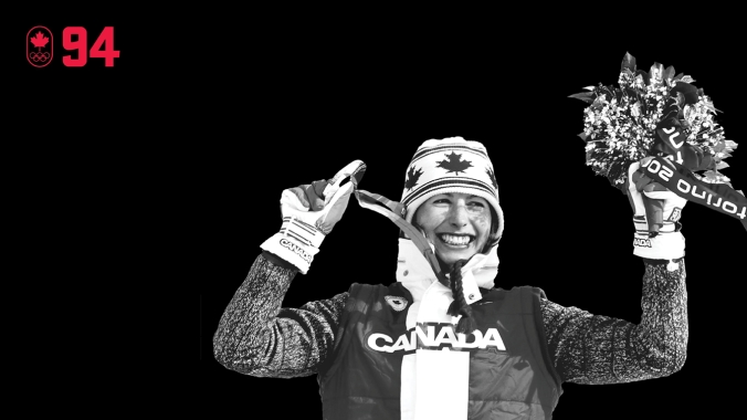 Chandra Crawford was a relative unknown when she made her Olympic debut at Turin 2006. But she powered through round after round of the cross-country sprint, winning her quarterfinal and semifinal before skiing to the gold medal and celebrating on the podium with exuberance. BE EXCELLENT