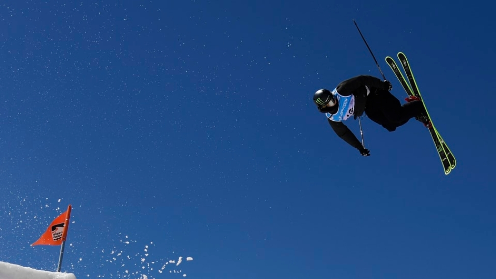 Evan McEachran wins silver in ski slopestyle