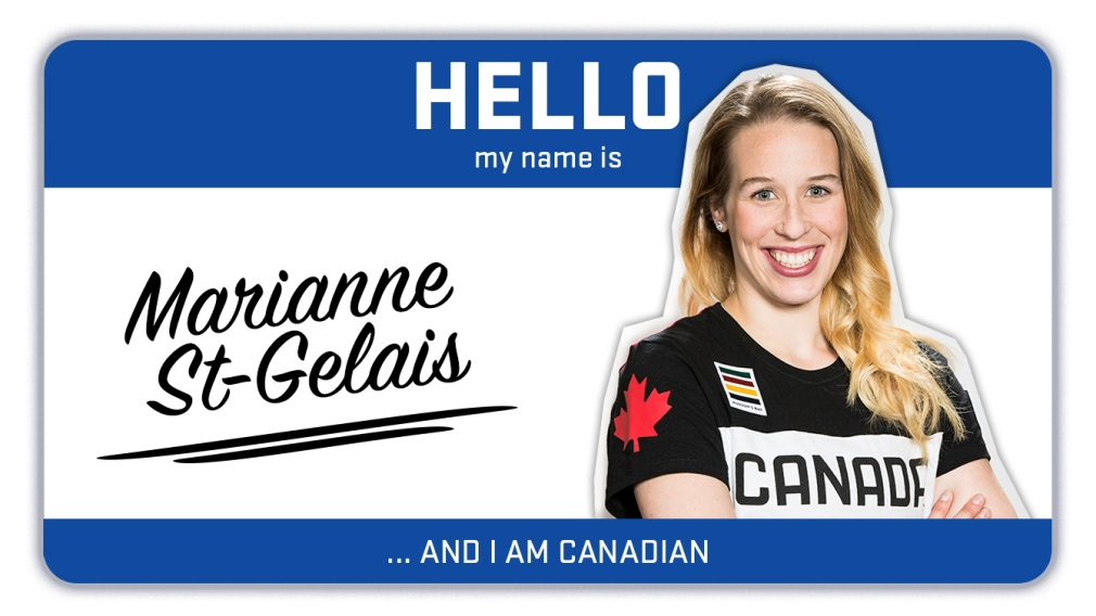 Hi, my name is Marianne St-Gelais and I'm a speed skater