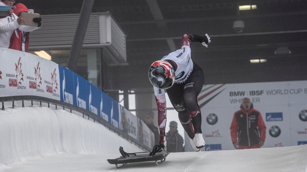 Spring and Humphries gold, Kripps and Channell win silver at World Cup in Whistler