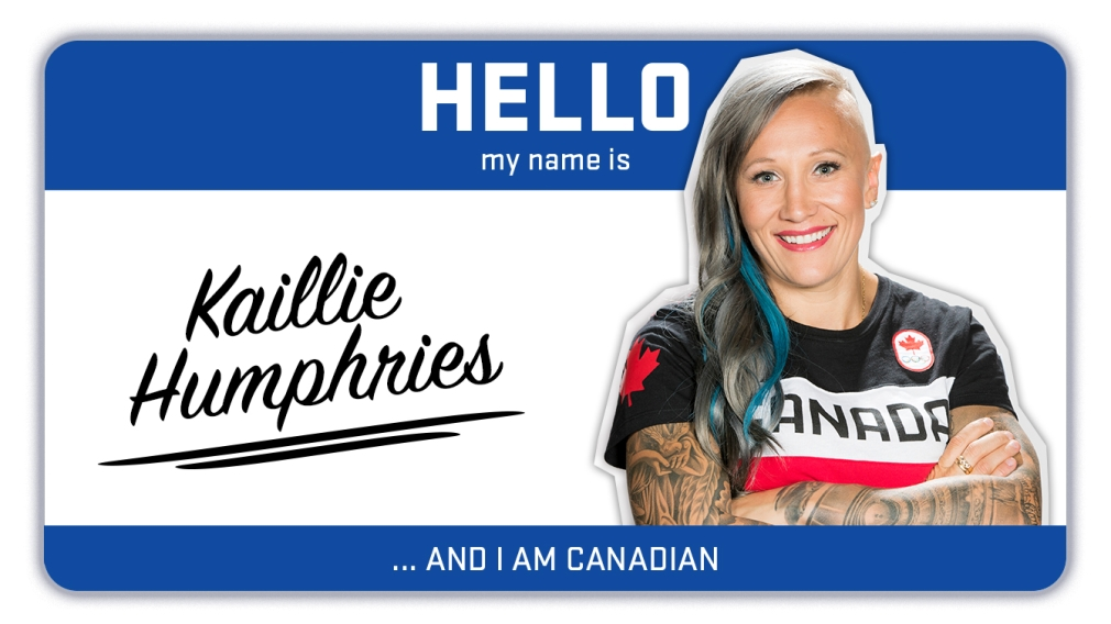 Hi, my name is Kaillie Humphries and I'm a bobsledder