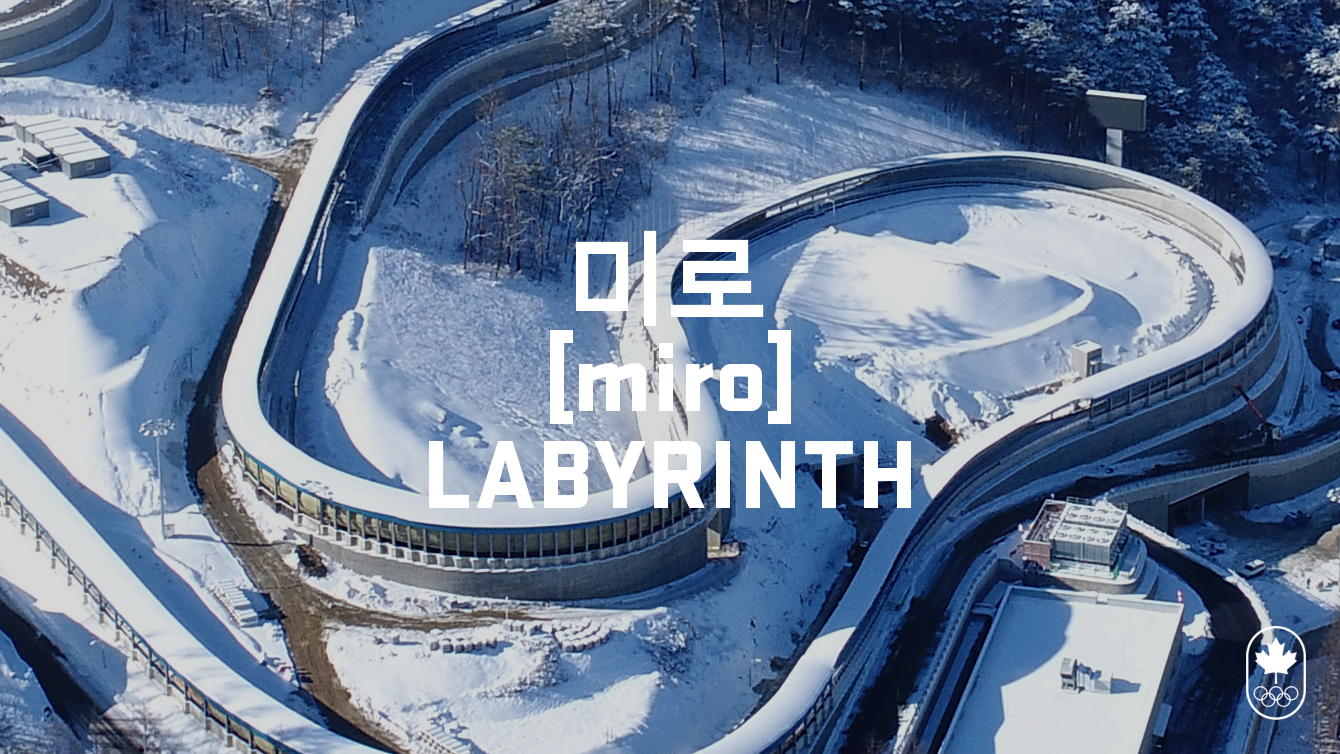 Team Canada - Bobsleigh Labyrinth hangul miro