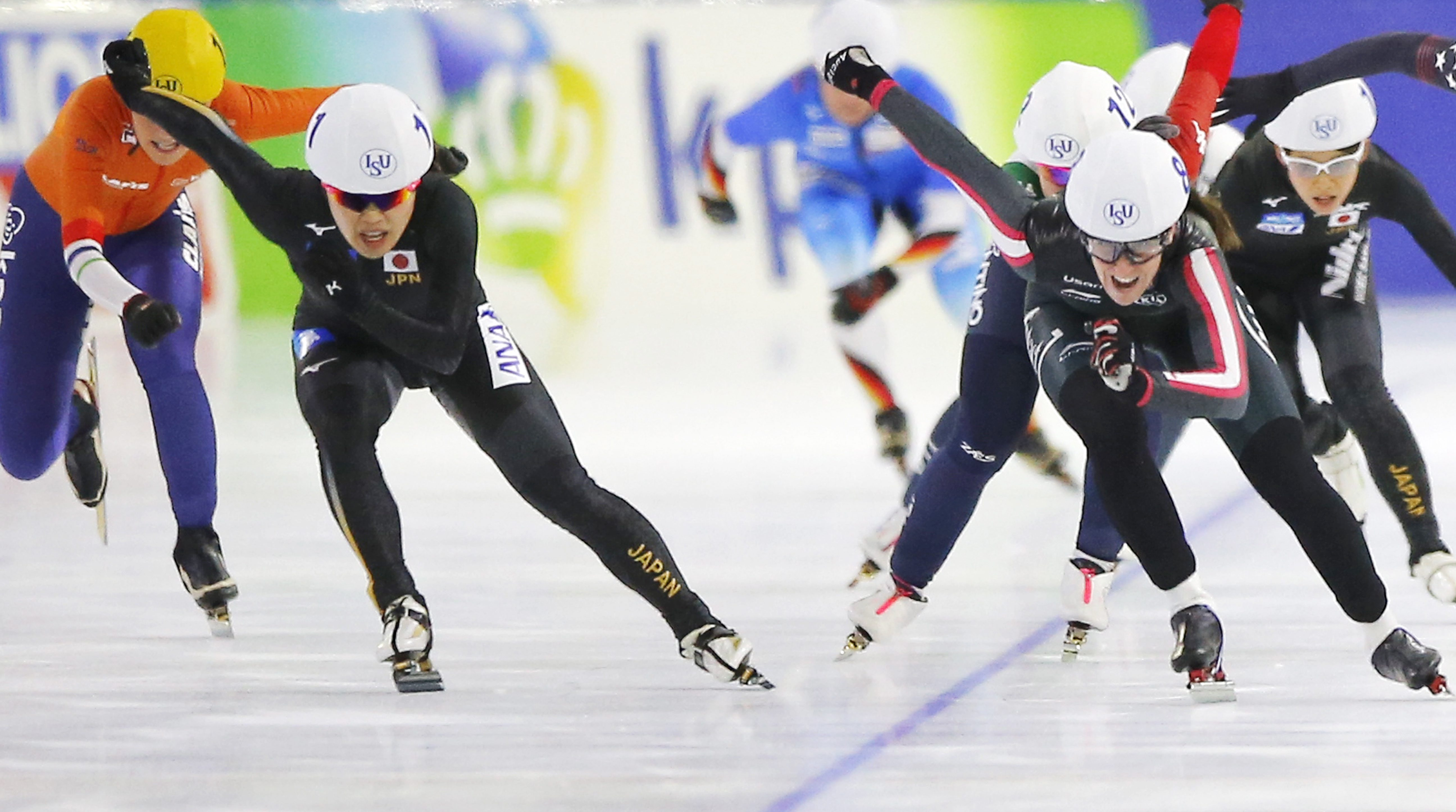 Team Canada - Ivanie Blondin - Mass Start Heerenveen