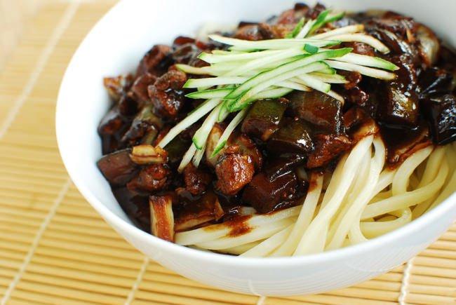 Team Canada - Korea 101 Food Jajangmyeon