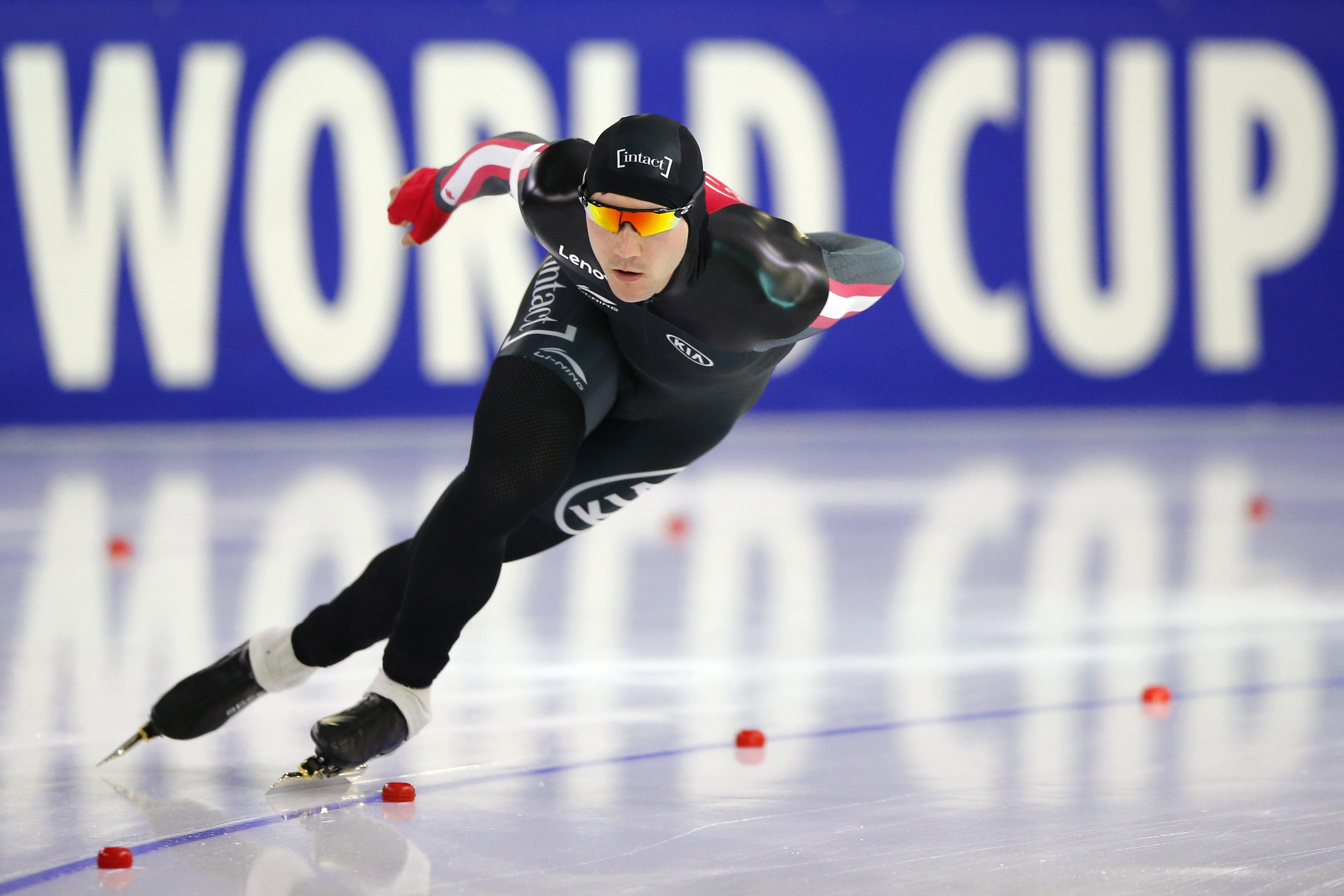Team Canada - Vincent De Haitre - Heerenveen World Cup