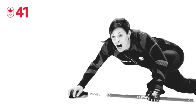 After a decade spent building her business, Cheryl Bernard's focus returned to curling in the late 2000s. Having never won a major tournament, she skipped her team of Susan O'Connor, Carolyn Darbyshire, Cori Bartel and Kristie Moore to a surprising victory at the Olympic trials and then a silver medal at Vancouver 2010. BE DETERMINED