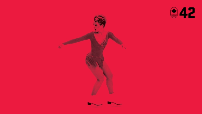 Figure skater Elizabeth Manley became Canada's sweetheart at Calgary 1988. She had struggled with a tough mental illness as a teenager, and had an unsuccessful free skate at the 1987 Worlds. But she overcame it all to deliver the program of her life and win Olympic silver. BE COURAGEOUS