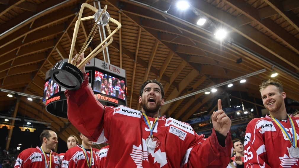 Canada wins third consecutive Spengler Cup