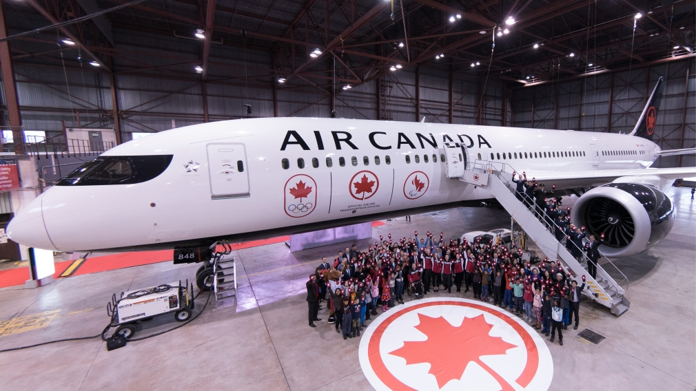 Air Canada proudly flies the flag with renewed Canadian Olympic and Paralympic partnership