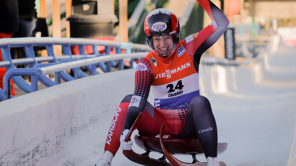 Gough and team relay add luge silvers on home track