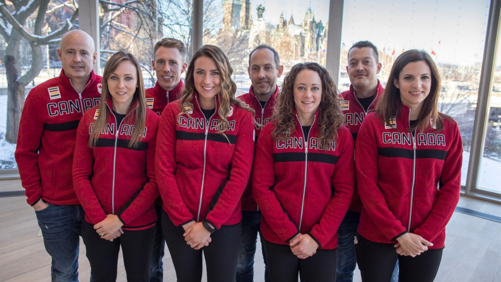 Canadian men's and women's curling teams named for PyeongChang 2018