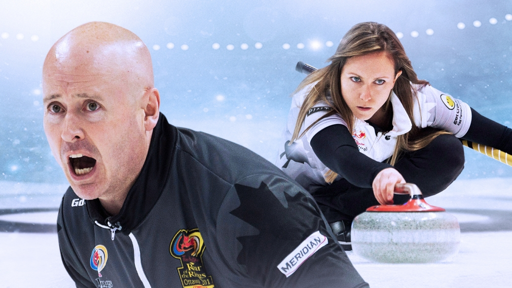 Homan and Koe rinks officially join Team Canada for PyeongChang 2018