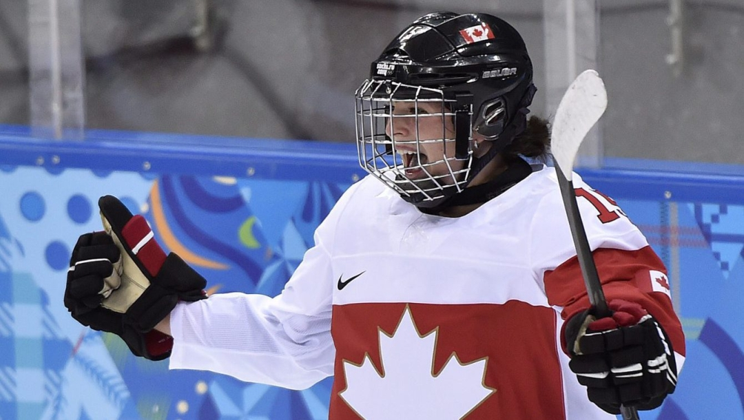 Team Canada Melodie Daoust