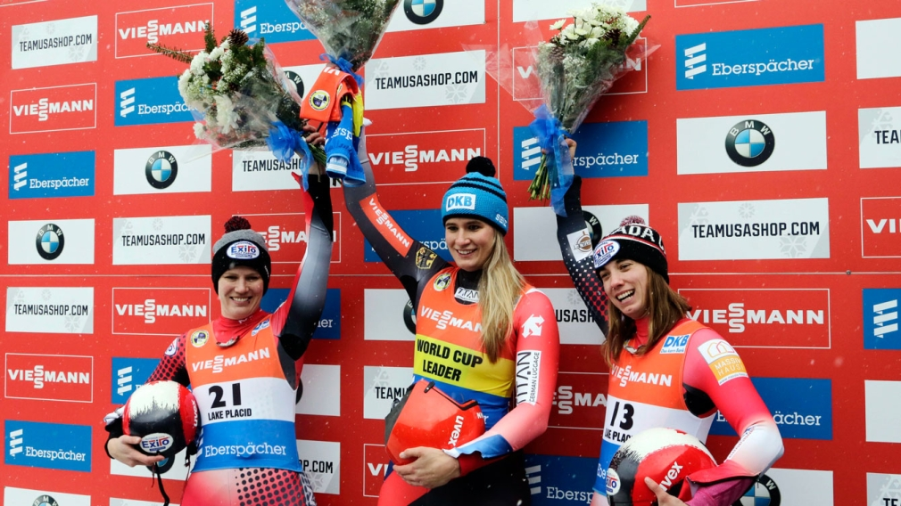 Gough and McRae slide to a 2-3 finish at luge World Cup