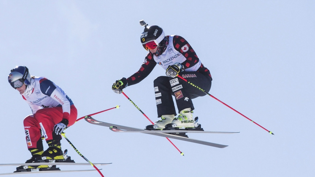 Simmerling places second at ski cross World Cup in Italy