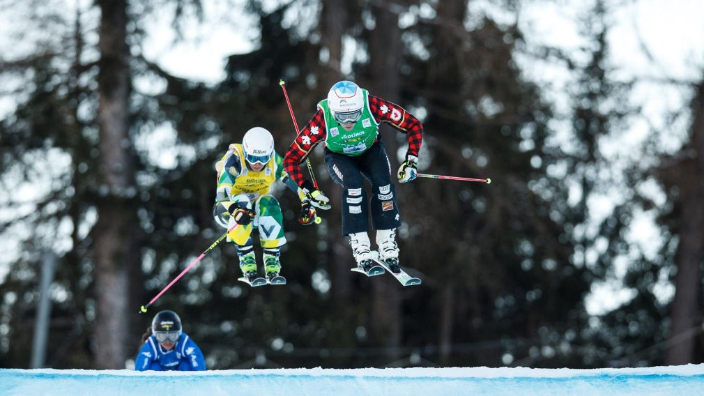 Second ski cross podium in as many days for Simmerling in Italy