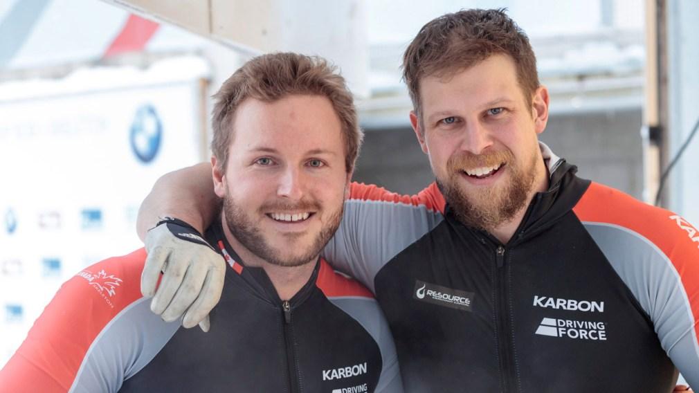 Kripps and Lumsden secure two-man silver in Innsbruck