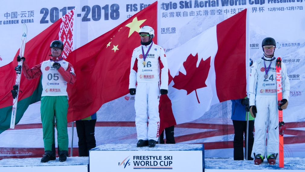 Irving wins first career World Cup medal in aerials season opener
