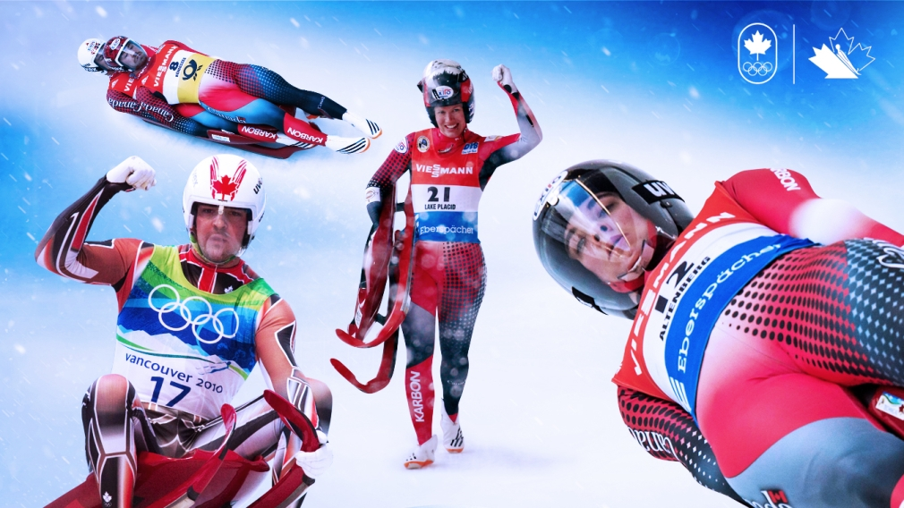 Luge Athletes Nominated to Team Canada for PyeongChang 2018