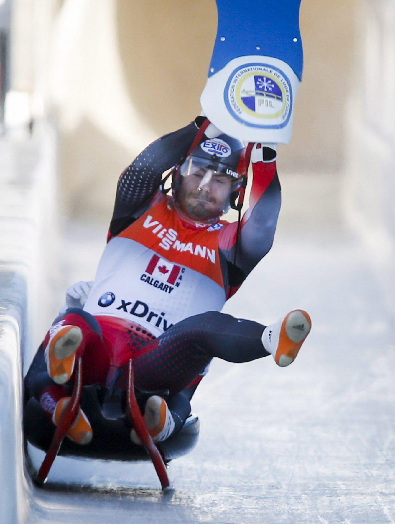 Team Canada - Luge Team Relay - Justin Snith Tristan Walker