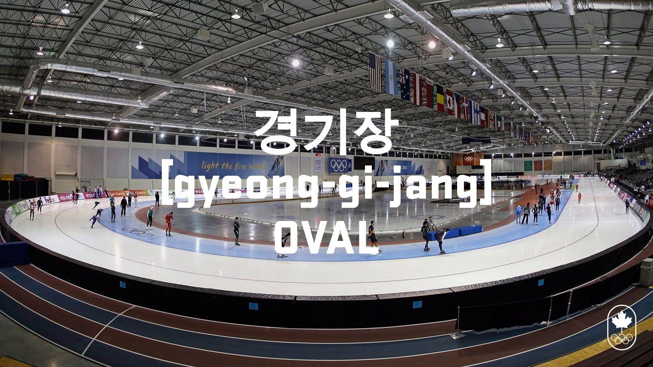 Team Canada - Speed Skating Hangul Oval gyeong-gi-jange