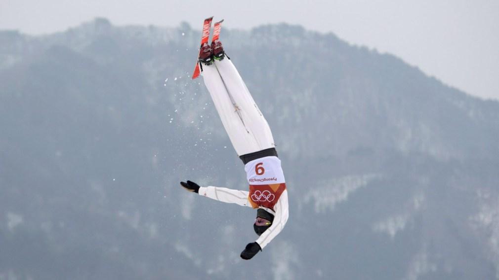 Team Canada Lewis Irving PyeongChang 2018