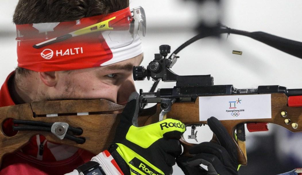 Cover Team Canada Christian Gow PyeongChang 2018
