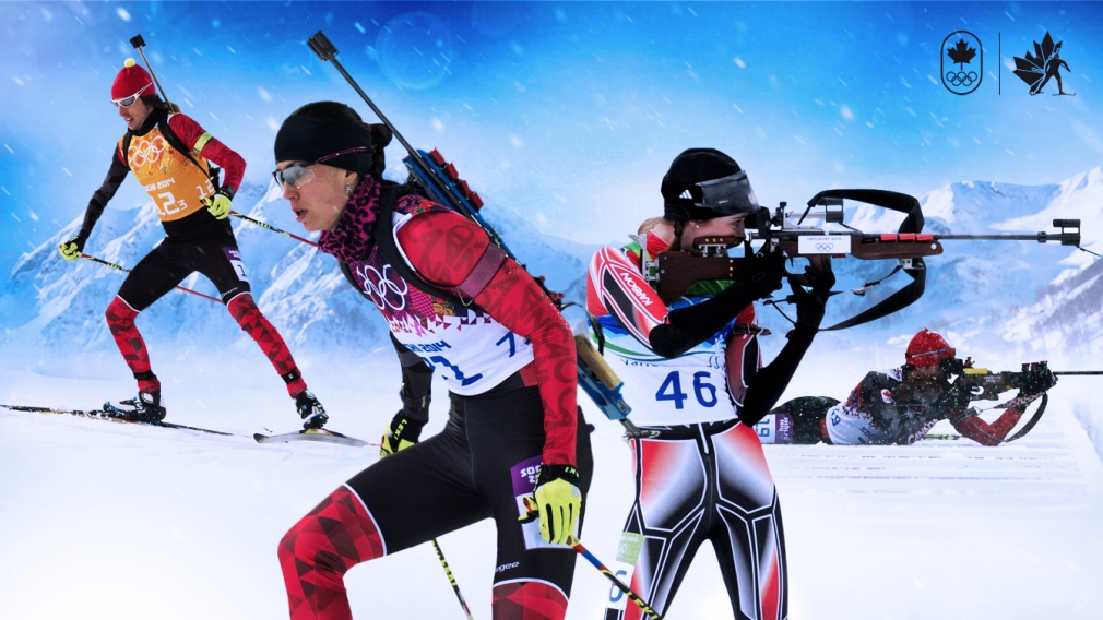 Team Canada biathletes nominated for PyeongChang 2018