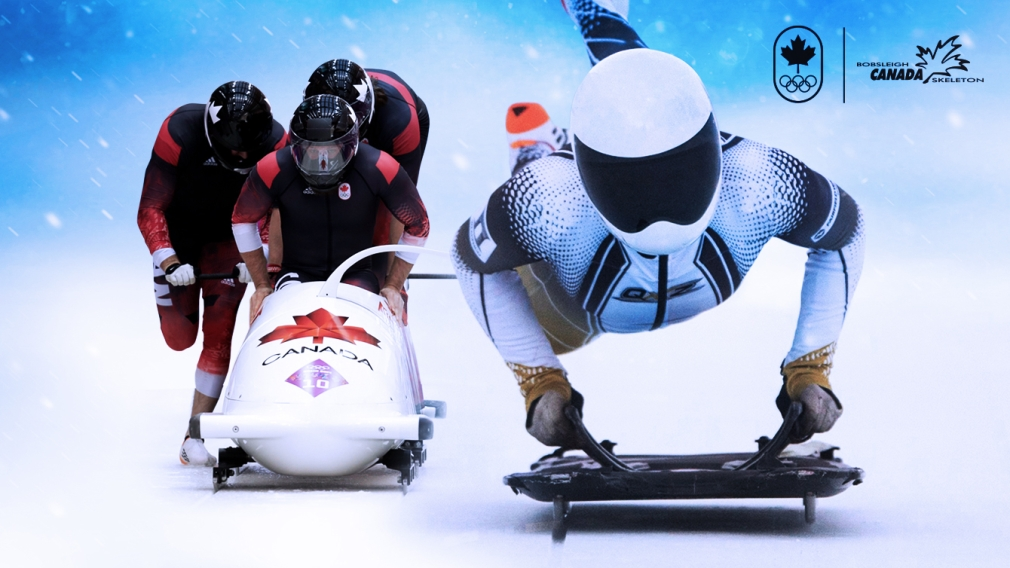 Canadian bobsleigh and skeleton athletes nominated for 2018 Olympic Winter Games