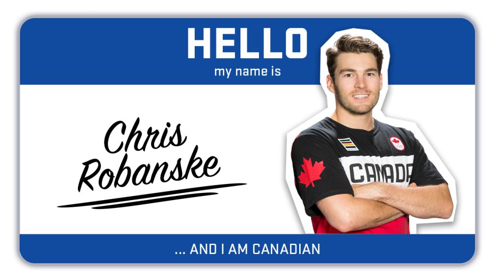 Hi, my name is Chris Robanske and I snowboard